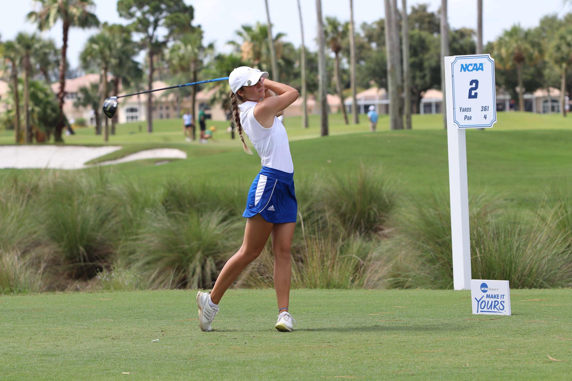No  11 Limestone Places Sixth in Stroke Play